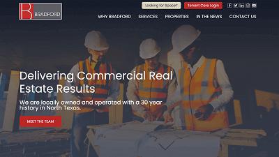 Bradford-Real-Estate-Services-HubSpot-Screenshot