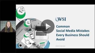 RESUMEN: Errores comunes en redes sociales que su empresa debe evitar.