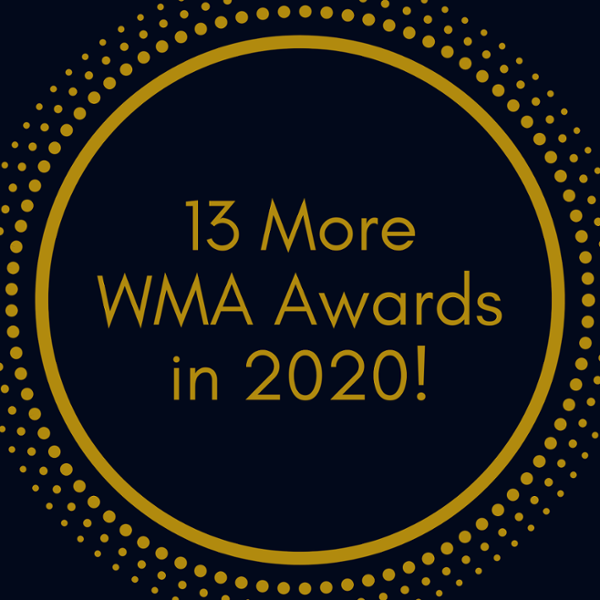 13 more wma awards in 2020