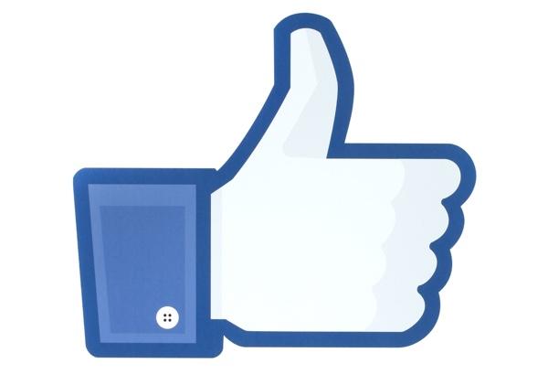 Icono de me gusta en Facebook