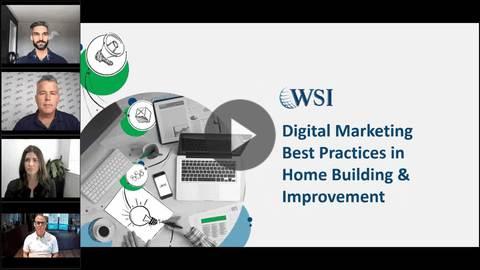 Panel de discusión de la industria: mejores prácticas de marketing digital en la construcción y mejora de viviendas